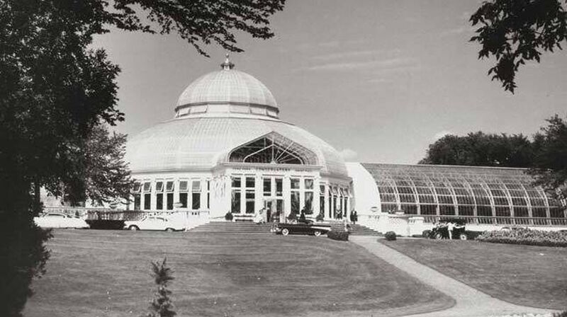 Historical photo of Como Zoo and Conservatory