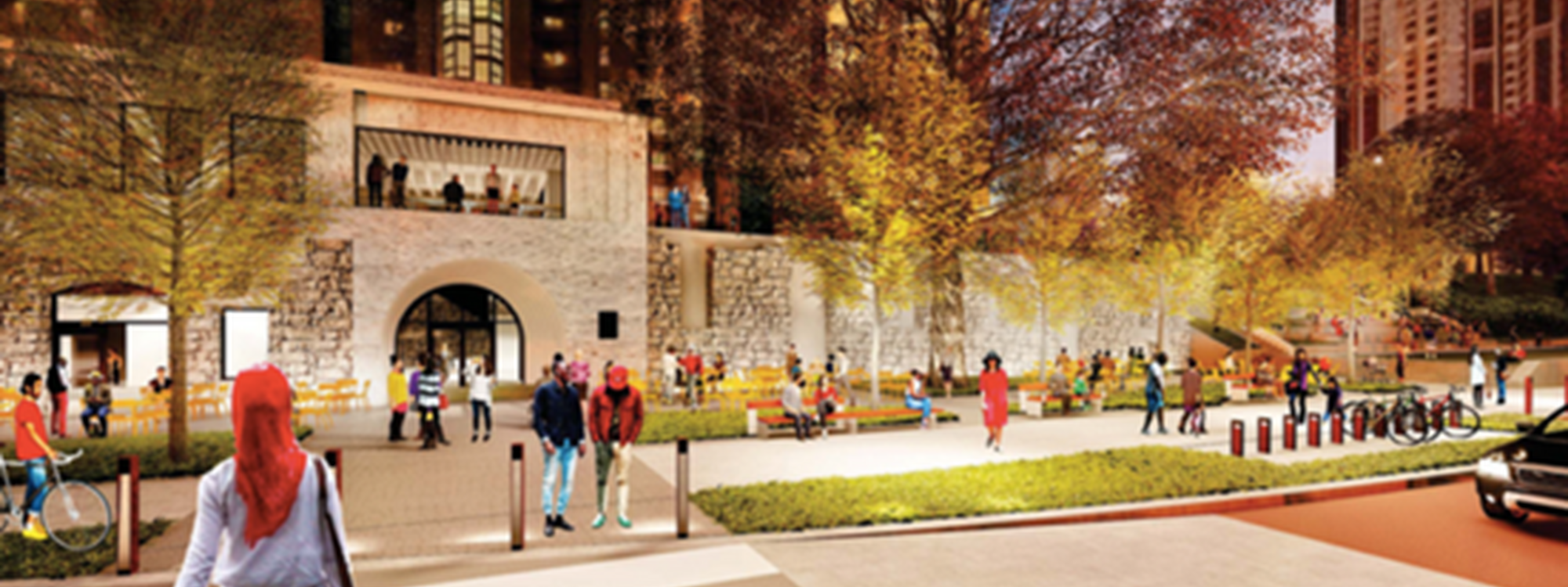 Minneapolis Parks Foundation rendering of a new park