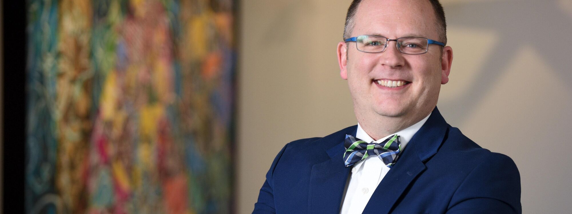 Jeremy Wells, senior vice president of Philanthropic Services