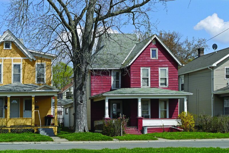 Program Related Investments provide flexible, low-cost capital for economic opportunity and affordable housing, like the houses shown here