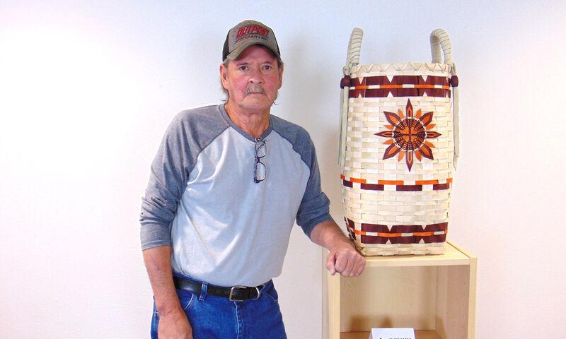 Clyde Estey Blackash Basketry