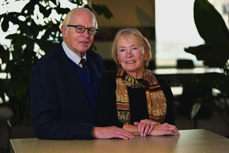Community foundation designated fundholders Ken and Nina